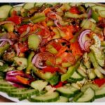 Sunday Super Fresh & Healthy Salad! WEIGHT LOSS SALAD Recipe + Easy and Super Delicious & Healthy!