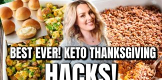 THANKSGIVING SIDE DISHES 2019 / EASY KETO RECIPES / WHAT'S FOR DINNER /  DANIELA DIARIES