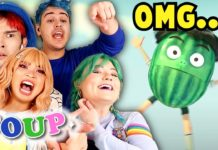 TRY NOT TO SAY * OMG * CHALLENGE (SOUP REACTS TO WEIRD ANIMATED STORIES) * SCARRED FOR LIFE *