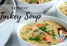 Thanksgiving Leftovers |  Creamy Leftover Turkey Soup Recipe
