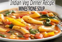 Veg Indian Dinner RecipeVegetable Soup with PastaHealthy Dinner Recipe Soup Recipe