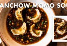 Veg Manchow Momo Soup |  Veg Momo |  Chef Sanjyot Keer