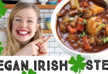 Vegan Irish Stew - Quick and Easy Stew Recipe