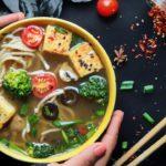 Vietnamese Noodle Soup Recipe - Easy, Healthy & Tasty Dinner Idea | Vegetarian Recipes | Vegan Pho