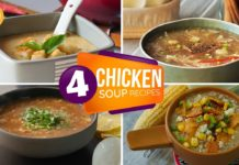 4 Chicken Soup Recipes By Food Fusion