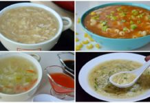 4 SOUP RECIPES WINTER SPECIAL by (YES I CAN COOK)