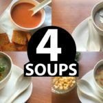 4 quick & easy soup recipes | classic healthy Veg indian soup recipes