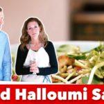 Amazing Keto Fried Halloumi Salad Recipe | Karen and Eric Berg