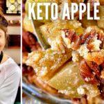 BEST KETO APPLE CRISP RECIPE! How to Make Keto Apple Crisp + Apple Pie A La Mode | Only 3 Net Carbs!