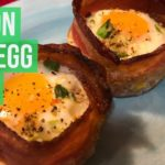 Bacon and Egg Cups | Keto | Paleo | Carnivore | Whole 30 #keto #ketorecipes #carnivorediet
