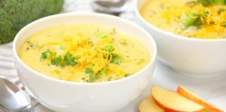 Broccoli & Cheddar Soup    Quick + Healthy Fall Comfort Foods