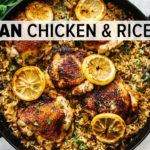 CHICKEN & RICE | easy & healthy one-pan recipe