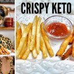 CRISPY KETO FRENCH FRIES WITH A SECRET INGREDIENT! How to make Keto French Fries with a Twist!