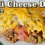 Chili Cheese Dog Casserole – Low Carb Keto Casserole Recipe
