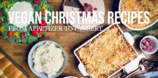 Complete Vegan Christmas Menu Recipes