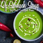Cream of Spinach Soup Recipe |  क्रीम ऑफ़ स्पिनच सूप |  Chef Sanjyot Keer