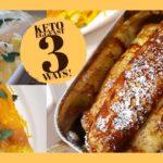 EGGFAST 3 Ways! | Keto Diet | Eggfast Recipes