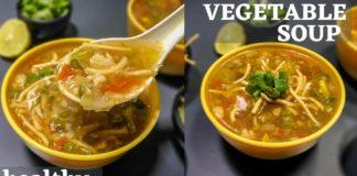 HEALTHY VEGETABLE SOUP RECIPE | MIX VEG SOUP | SOUP RECIPE | HEALTHY VEGETARIAN SOUP | SPUDS KITCHEN