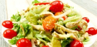 Healthy Chicken Salad Recipes For Weight Loss | 420 Calories (1 serving)