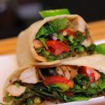 Healthy Chicken Wrap - healthy recipe - chicken wraps - sandwich wrap
