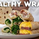 Healthy Wraps at Home (Make Your Own Flatbread)