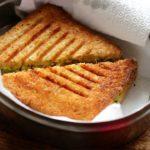 High Protein Veg Sandwich Recipe - Healthy Sandwich For Weight Loss-Paneer Sandwich | Skinny Recipes