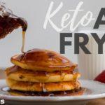 KETO AIR FRYER | Easy Air Fryer Breakfast Recipes | air fryer hard boiled eggs | air fryer pancakes