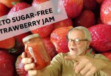 KETO SUGAR-FREE STRAWBERRY JAM: LOW CARB BERRY PRESERVES