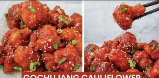 KOREAN GOCHUJANG CAULIFLOWER | Vegan Recipe