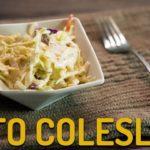 Keto Coleslaw Recipe (2 net carb) | Sugar Free Coleslaw from Tara's Keto Kitchen