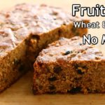 Last Minute Christmas Fruit Cake Recipe - Healthy Kerala Plum Cake With Wheat Flour & Jaggery