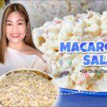 MACARONI SALAD | Creamy & Tasty | Tried & Tested Recipe