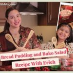 #MakeItMerryWithMarjorie: Bread Pudding and Buko Salad Recipe With Erich