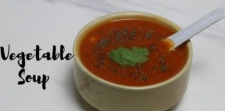 Mixed Vegetable Soup Recipe | Quick and Easy Vegetable Soup Recipe | No Onion No Garlic Recipe