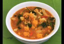 Myanmar Food Recipes  ပဲသတ်သတ်လွတ်ပဲကြီးနှင့်ပန်းဂေါ်ဖီချဥ်ရည်ဟင်း  vegetarian soup recipes