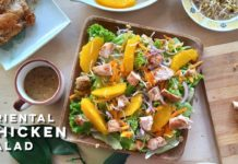 Oriental Chicken Salad Recipe | Easy and Tasty Chicken Salad