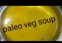 Paleo veg soup in Tamil