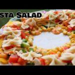 Pasta Salad Recipe | Christmas decoration Ideas | Healthy salad Recipes | New Recipes 2020