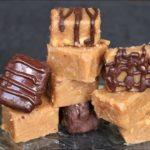 Peanut Butter Fudge 4 Ways | Keto Fudge | Sugar Free, Gluten Free Fudge