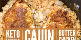 TASTY Cajun Garlic Butter Chicken 🧡 Low Carb & #Keto Recipe