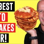 THE BEST KETO PANCAKES EVER!!  Easy keto recipes