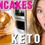 The BEST Cream Cheese FAT BURNING Keto Pancake Recipe!