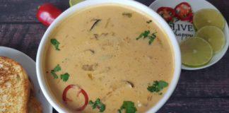 The Best Instant Pot Vegan Tom Kha Soup | Easy Thai Coconut Soup | How to Make Tom Kha Soup