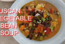 Tuscan Vegetable Bean Soup