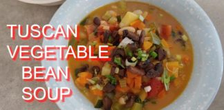 Tuscan Vegetable Bean Soup