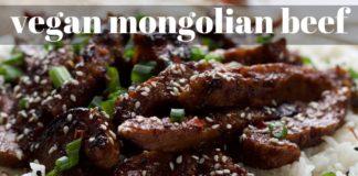 VEGAN MONGOLIAN BEEF - VEGAN SEITAN RECIPE   PLANTIFULLY BASED