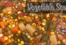 Vegetable Soup | Easy Vegetable Soup