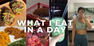 WHAT I EAT IN A DAY + TRADER JOES HAUL (easy + healthy recipes)