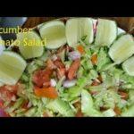 মজাদার ও সহজ সালাদ রেসিপি - Bengali Salad Recipe - Tasty & Healthy Salad Recipe