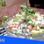 ଦହି କାକୁଡି ସଲାଡ଼ ଖରାଦିନ ପାଇଁ   How to make green salad  Salad recipe Indian